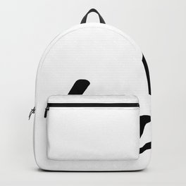 Bro.  Wall Art, Minimalistic Typography Poster, Black & White, Children's Nursery  Backpack