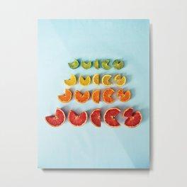 Juicy II Metal Print