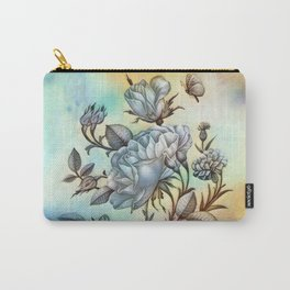 The Vintage Rose Carry-All Pouch