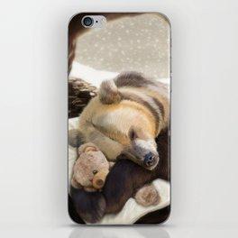 Sweet dreams, Mr Bear iPhone Skin