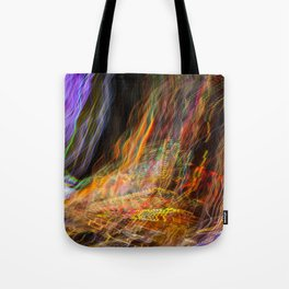 light-trace 2 / the scooter Tote Bag