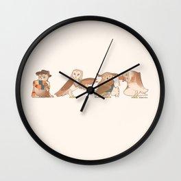 Doctor Hoo Wall Clock