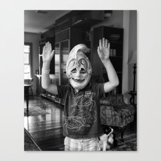 Boy From Venice No Canvas Print