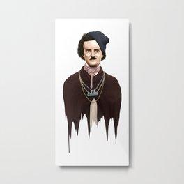 Eddie Poe Metal Print