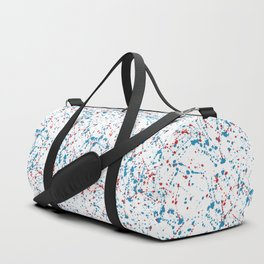 Splat Red White and Blue Duffle Bag