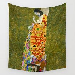 "Gustav Klimt ""Hope II"" Wall Tapestry"