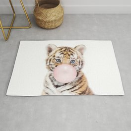 Bubble Gum Tiger Cub Rug