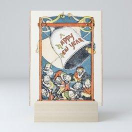 Greeting Card (1866) Charles Henry Bennett Mini Art Print