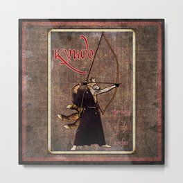 Kyudo: The Way of the Archer Metal Print