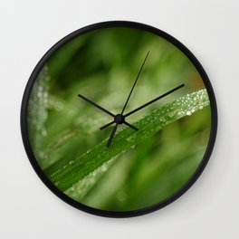Light drops Wall Clock