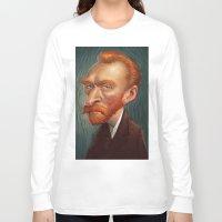 van Long Sleeve T-shirts featuring van  by helpius