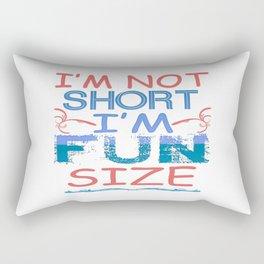 I'm Fun Size Rectangular Pillow