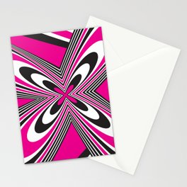 Funky Pink Stationery Cards
