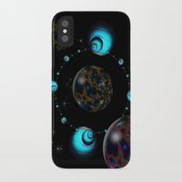 starry night iPhone & iPod Cases featuring Starry Starry Night by inkedsandra