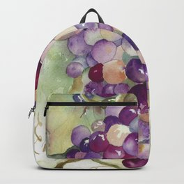 Wine Grapes 2 Backpack