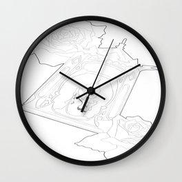Tattoo design  Wall Clock