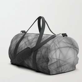 Abstract Faceted Duffle Bag