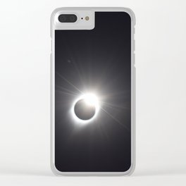 Total Solar Eclpse 2017 Clear iPhone Case