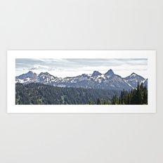 Smoky Skyline Art Print