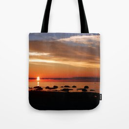 Cruising into the Sunset Tote Bag