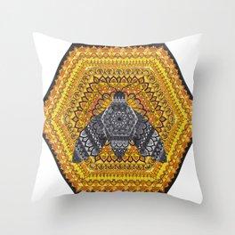 The Queen Bee Throw Pillow