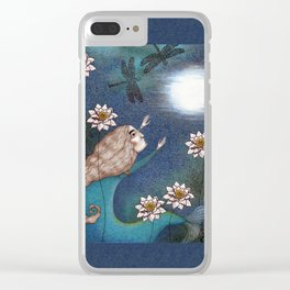 The Mermaid's Lake--Catching the Moon Clear iPhone Case