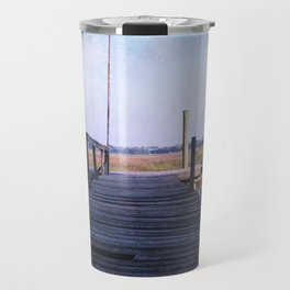 Out on the Pier Travel Mug