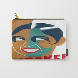 Josephine Baker Vintage Poster for Stockholm Carry-All Pouch