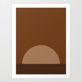 Sunrise / Sunset XI Art Print