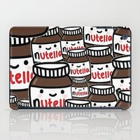 nutella iPad Cases featuring Nutella Love by Pink Berry Patterns