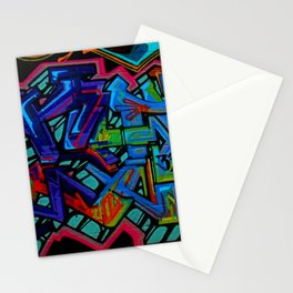 Graffiti Downtown ATL Stationery Cards