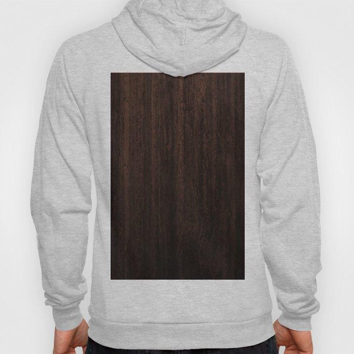 Very Dark Coffee Table Wood Texture Hoody
