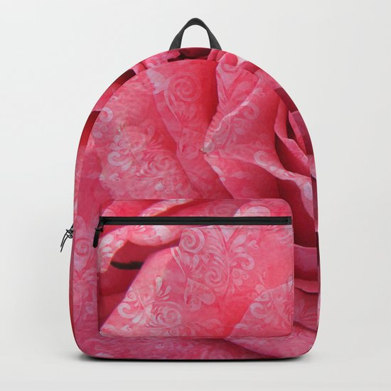 Pink love roses Backpack