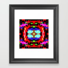 Simple Framed Art Print