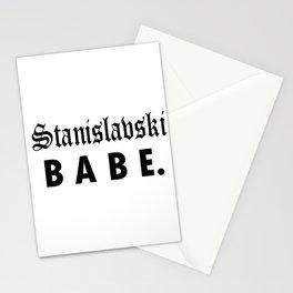 Stanislavski BABE Stationery Cards