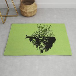Life and Death Rug