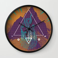 The Mountain of Madness Wall Clock