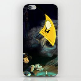 Gravity Falls- Dipper Pines And Bill Cipher iPhone Skin