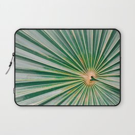 Palm up close   Botanical finea art photography print   Shades of green Laptop Sleeve