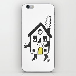 House on the Go! iPhone Skin
