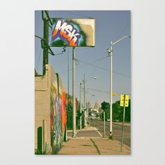 MSK with MSK in the back Canvas Print
