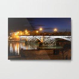 Bridge of Triana Metal Print
