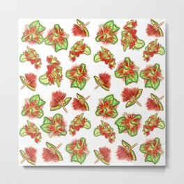 Native Australian Flower Print Metal Print