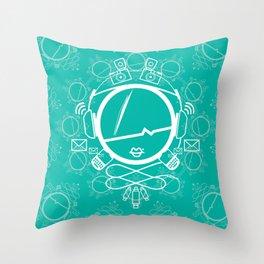 HIPSTER Throw Pillow