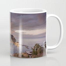 Harbor at Avalon on Catalina Island at Sunset Coffee Mug