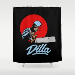 J Dilla Shower Curtain