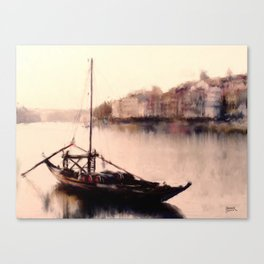 The Duoro at Sunset Canvas Print