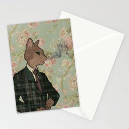 Monsieur Chat Stationery Cards
