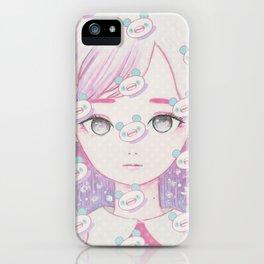 November Panda MAX iPhone Case
