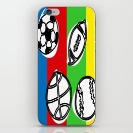 Color balls iPhone Skin